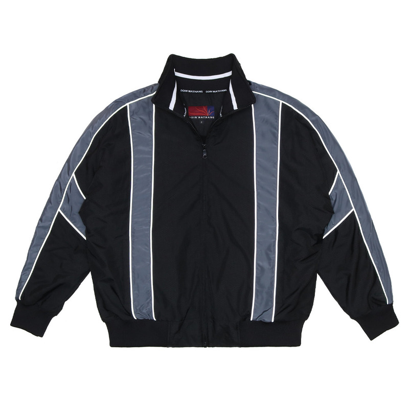 HEXAGON TRACK JUMPER [BLACK]