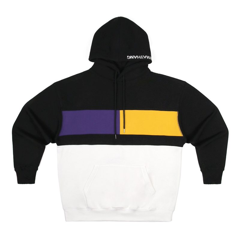 GRID HOODY [PURPLE/YELLOW]