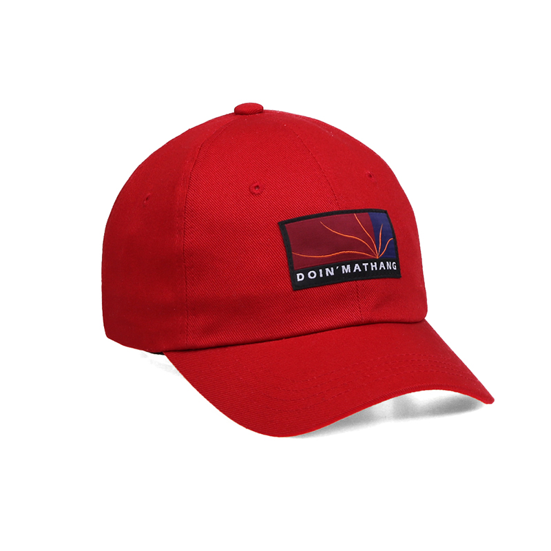 PATCH BALL CAP [RED]