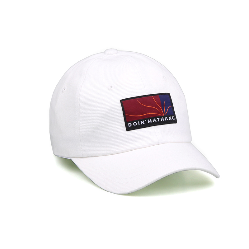 PATCH BALL CAP [OFF-WHITE]