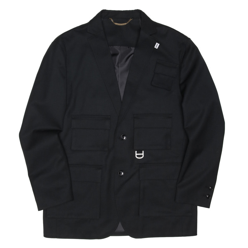 UTILITY TAILORED JACKET [BLACK]