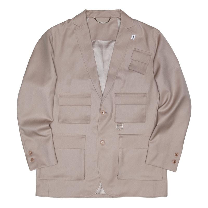UTILITY TAILORED JACKET [BEIGE]