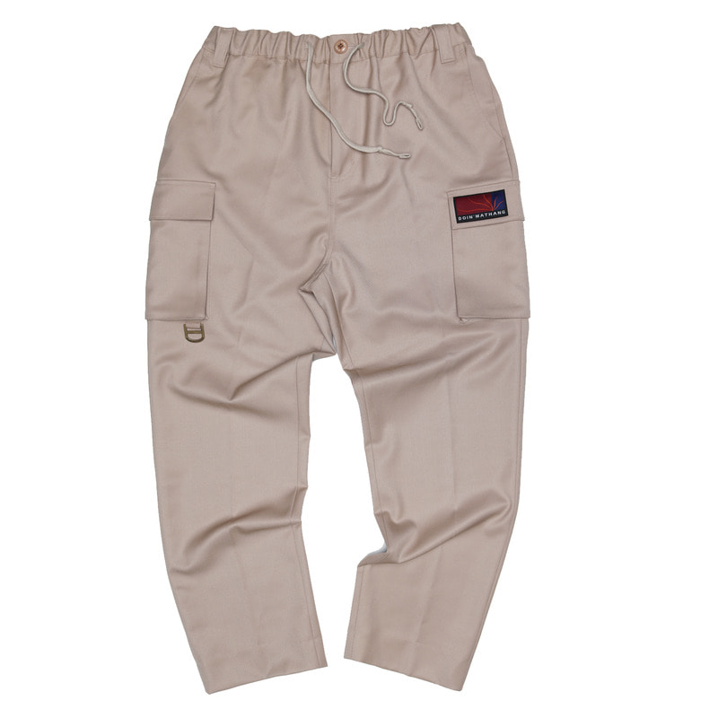 UTILITY TAILORED PANTS [BEIGE]
