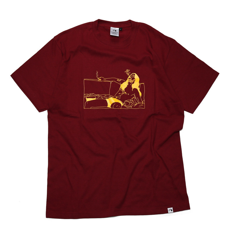 FILM S/S T-Shirt [BURGUNDY]