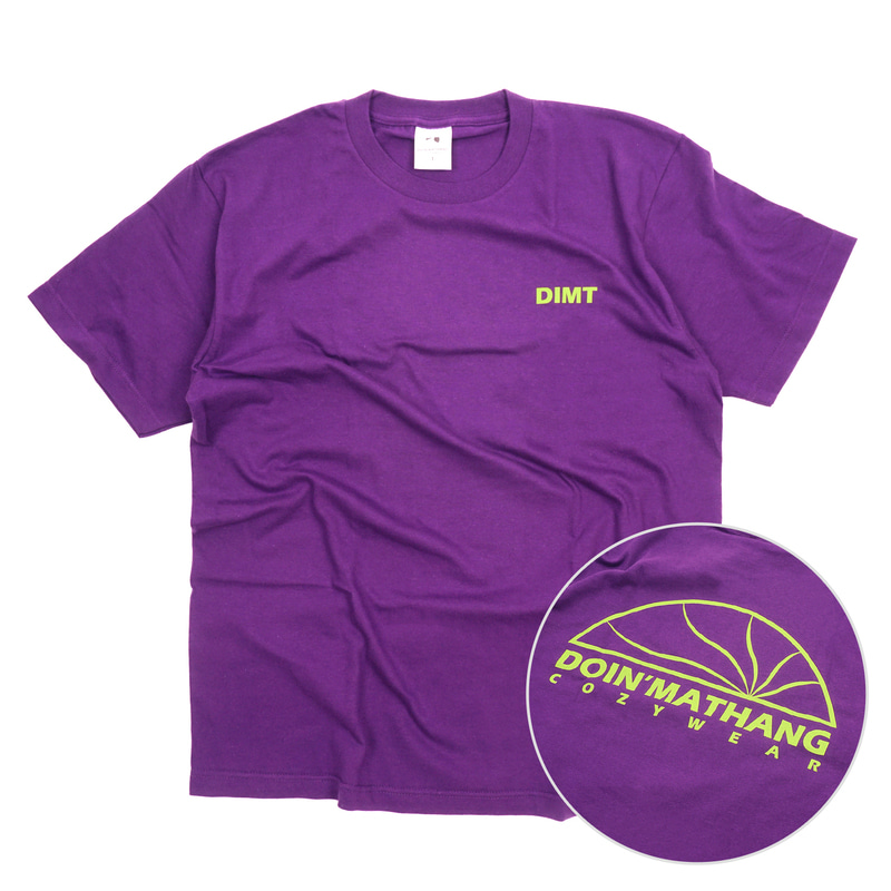 HALF LOGO S/S [PURPLE]