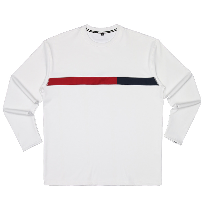 GRID STRETCH LONGSLEEVE [WHITE]