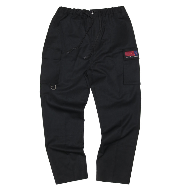 UTILITY TAILORED PANTS [BLACK]